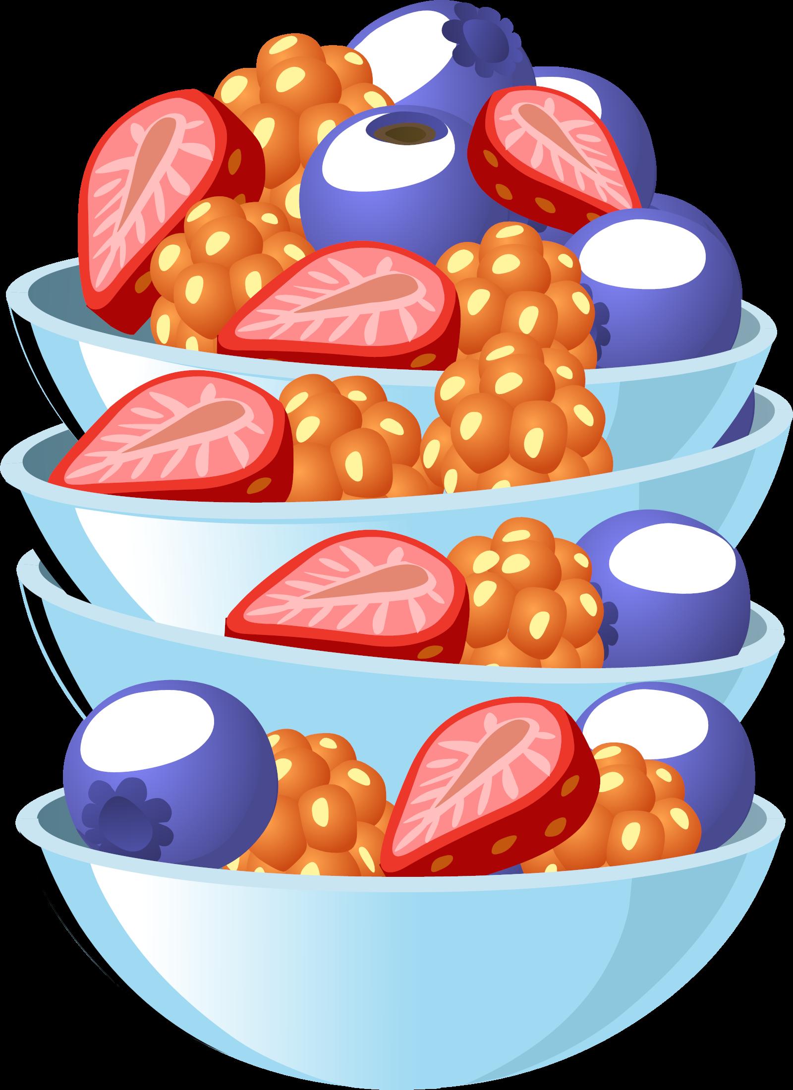 Blueberries SVG Clip arts