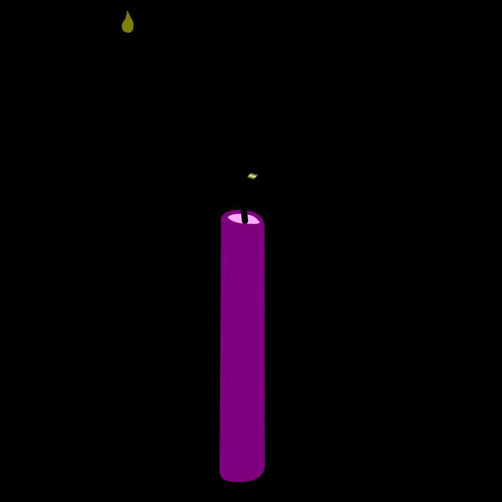 Burning Candle SVG Clip arts