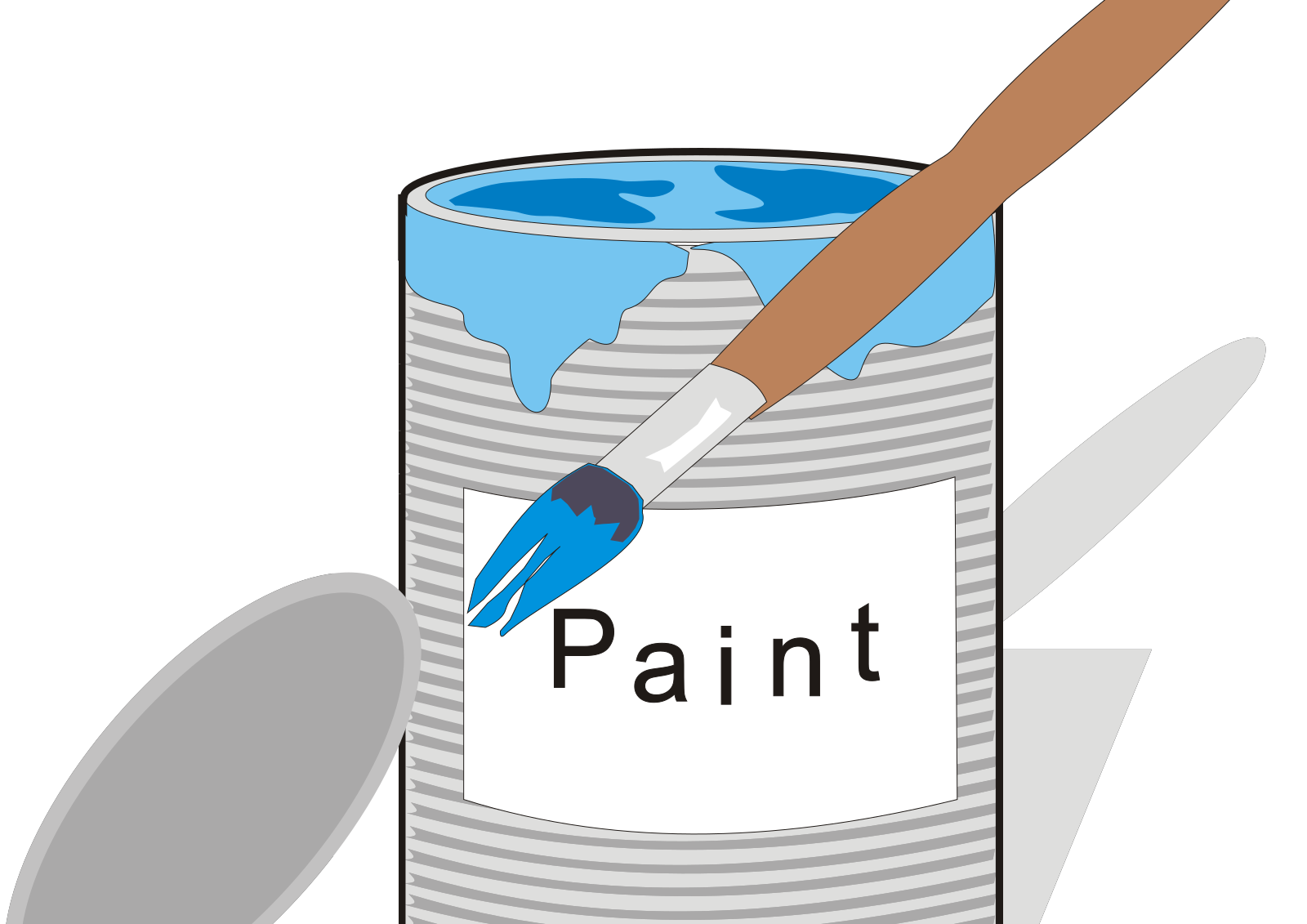 Blue SVG Clip arts