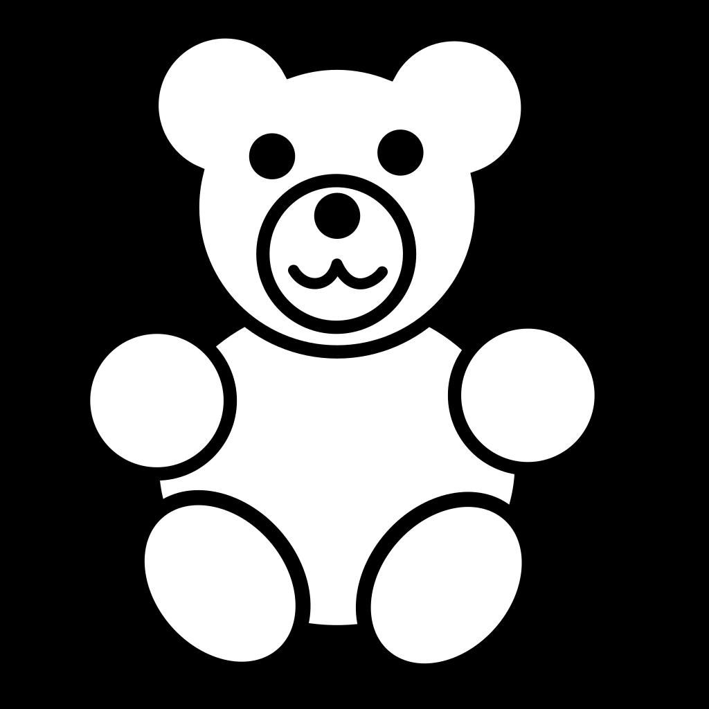 Blue Bear SVG Clip arts