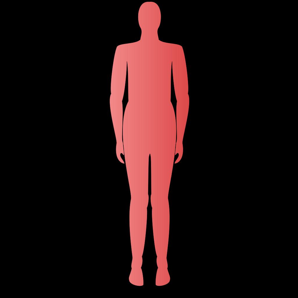 Human Form SVG Clip arts