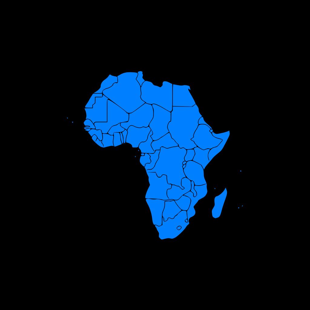 Africa SVG Clip arts