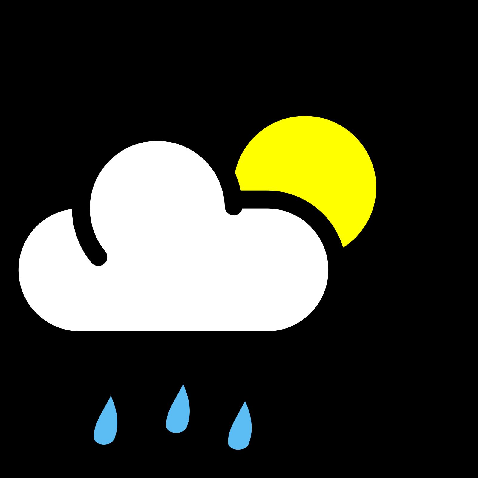 Rain SVG Clip arts