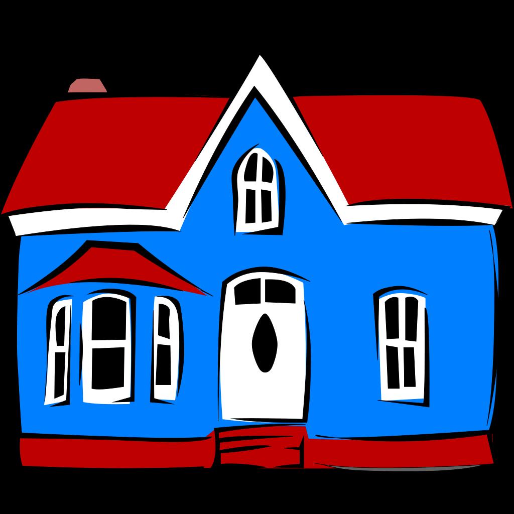 Mansion 2 SVG Clip arts