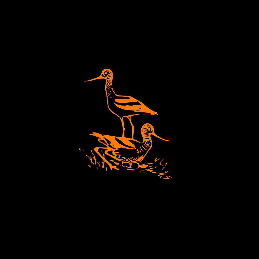 Flock Of Birds SVG Clip arts