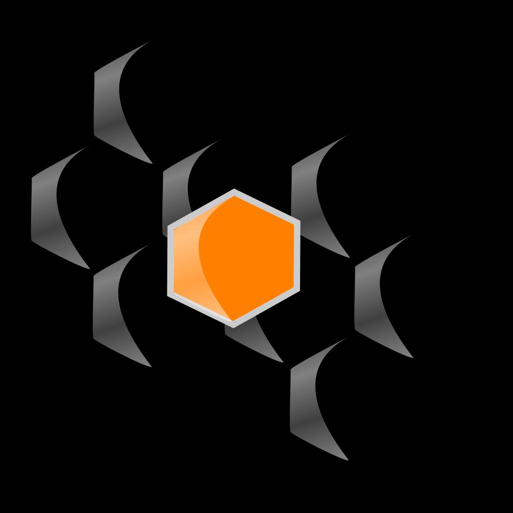 Cocrystal2 SVG Clip arts