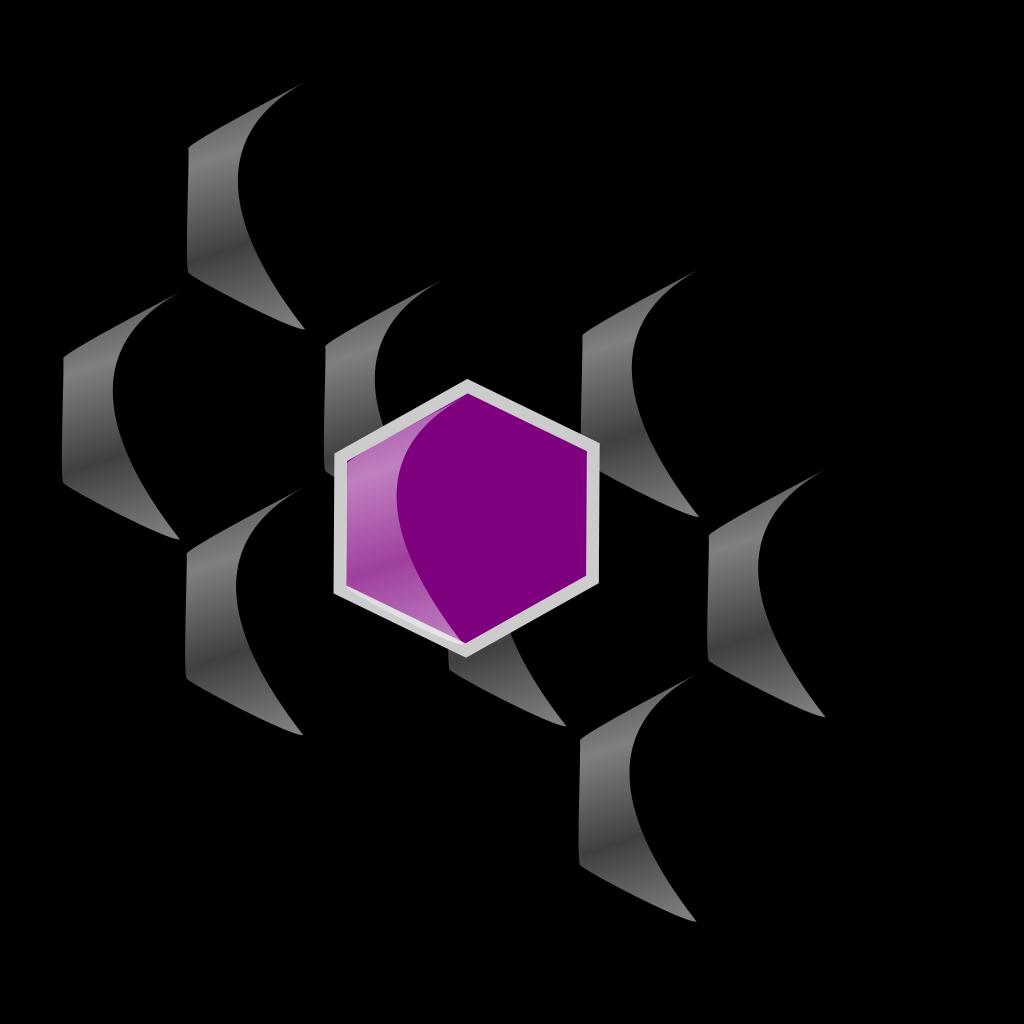 Cocrystal SVG Clip arts