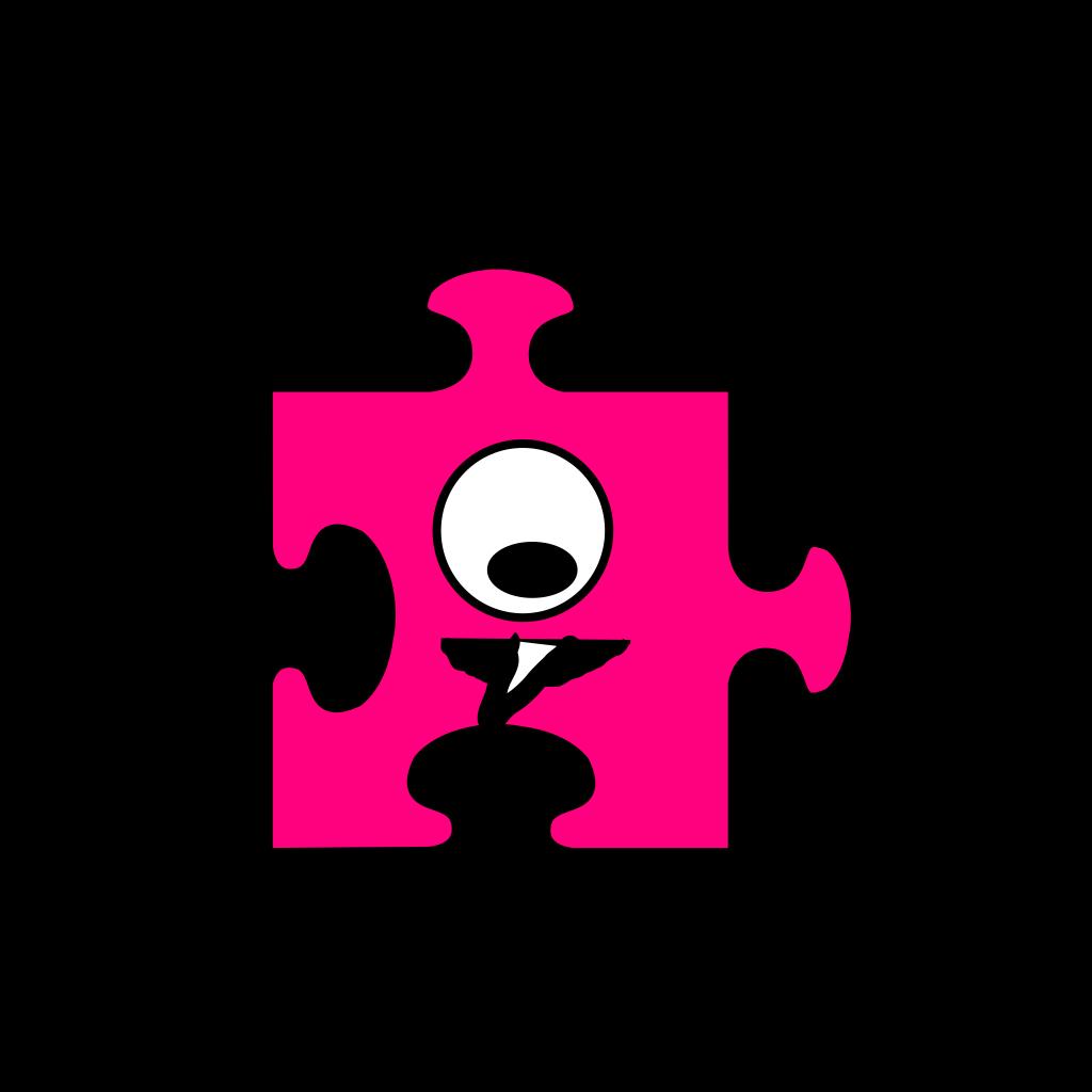 Puzzle SVG Clip arts