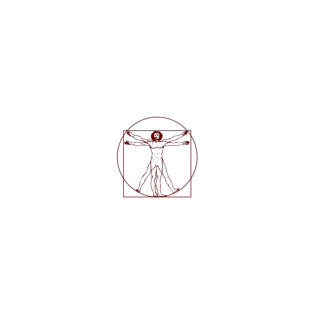 Vitruvian Man svg
