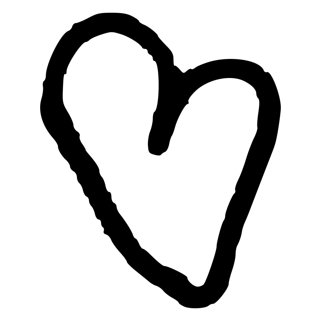 Tree Of Hearts SVG Clip arts
