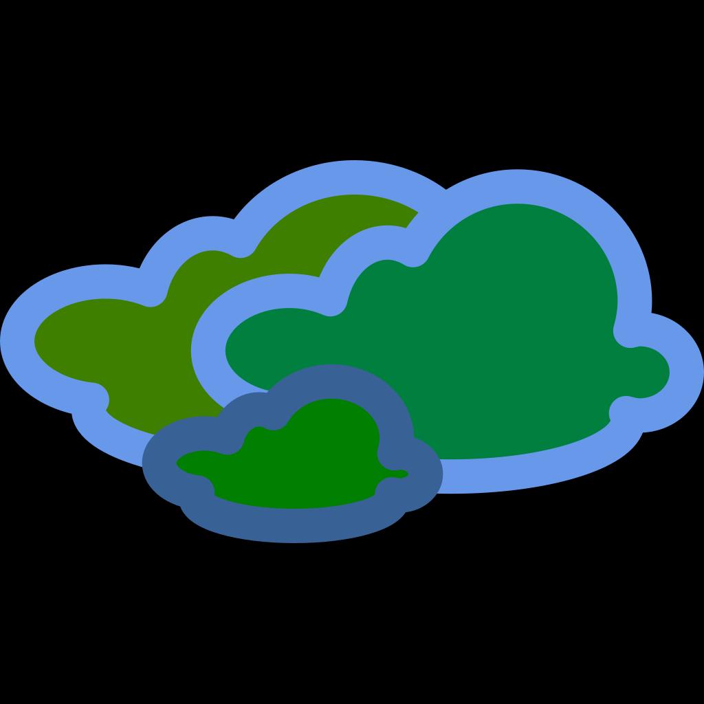 Gas/cloud SVG Clip arts