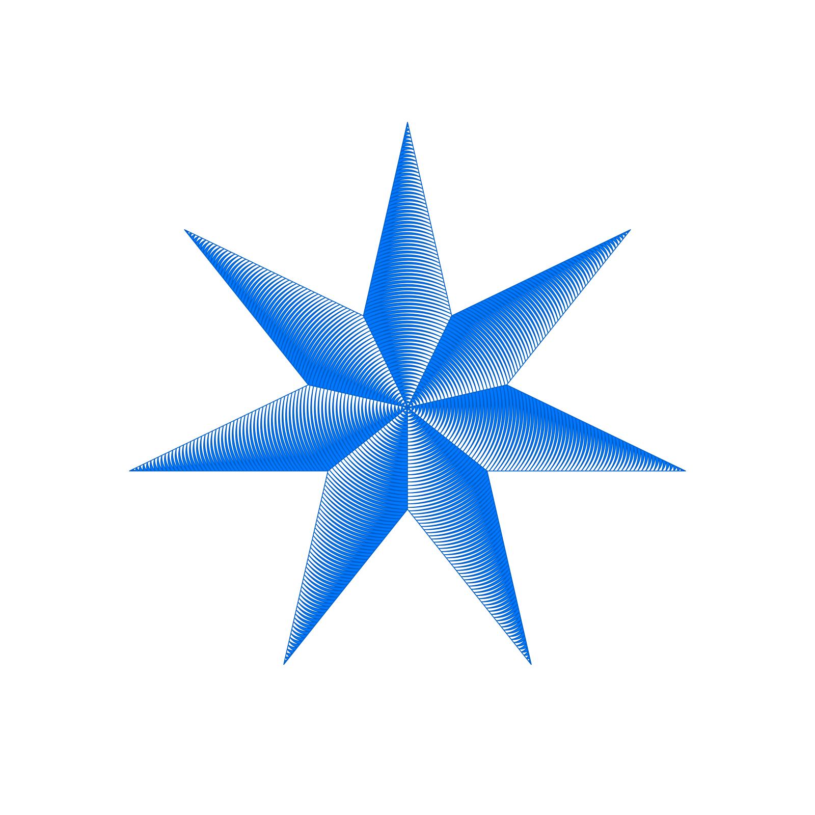 Blue Star SVG Clip arts