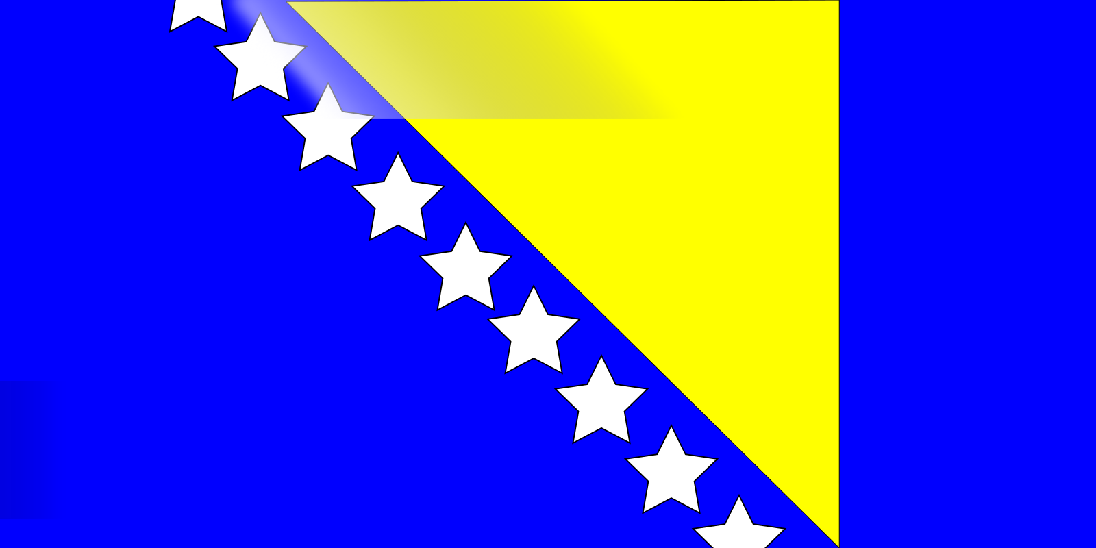 Blue Flag SVG Clip arts