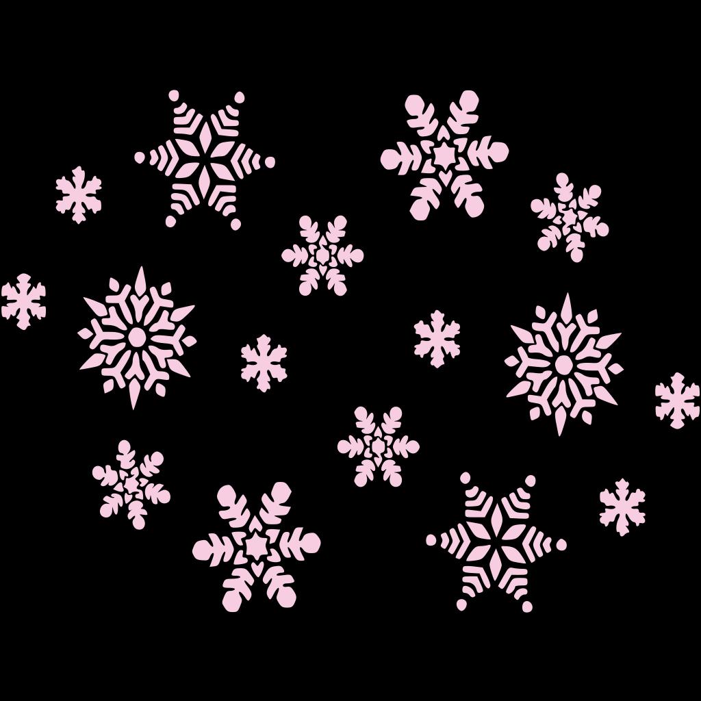 A Snowy Scene SVG Clip arts