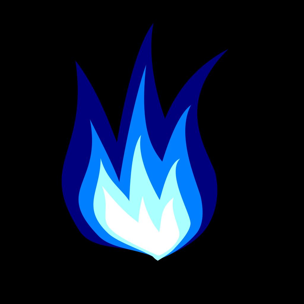 Blue Firework SVG Clip arts