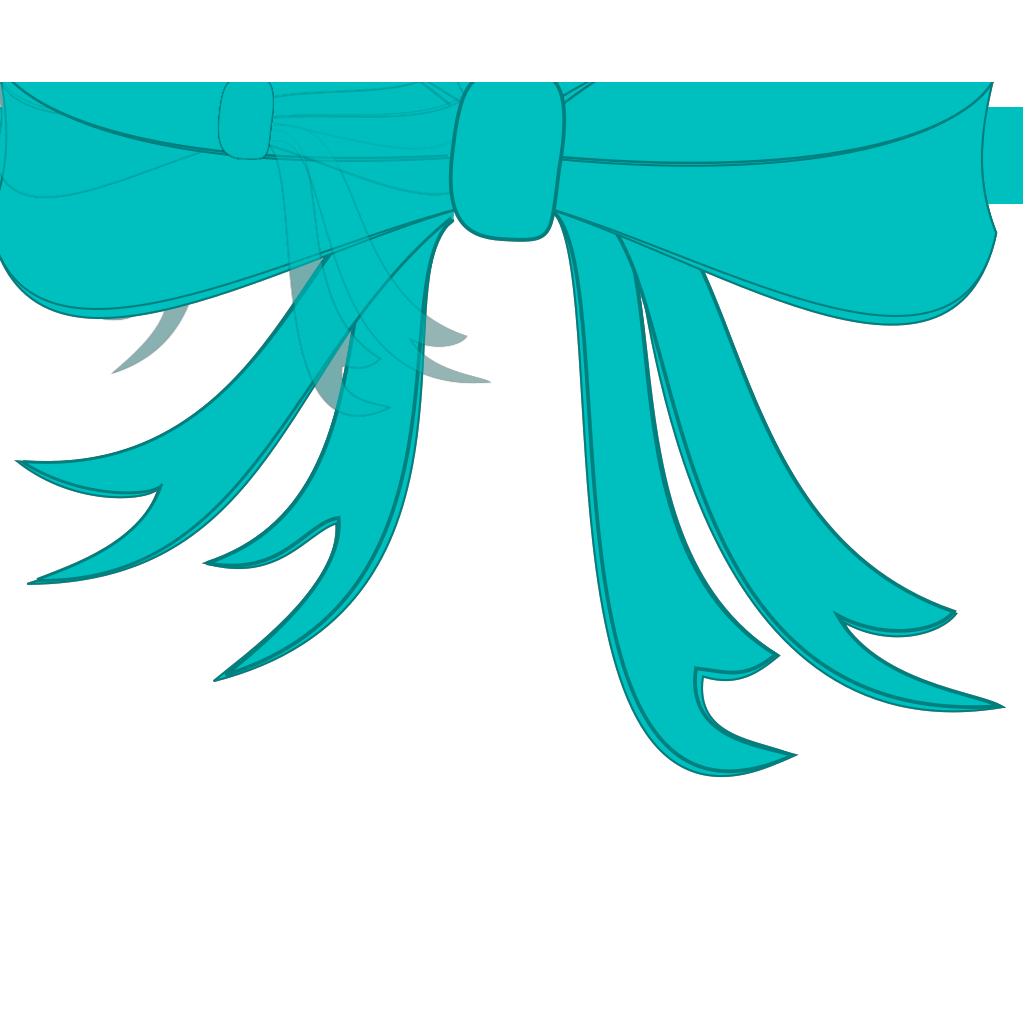 Green Bow SVG Clip arts