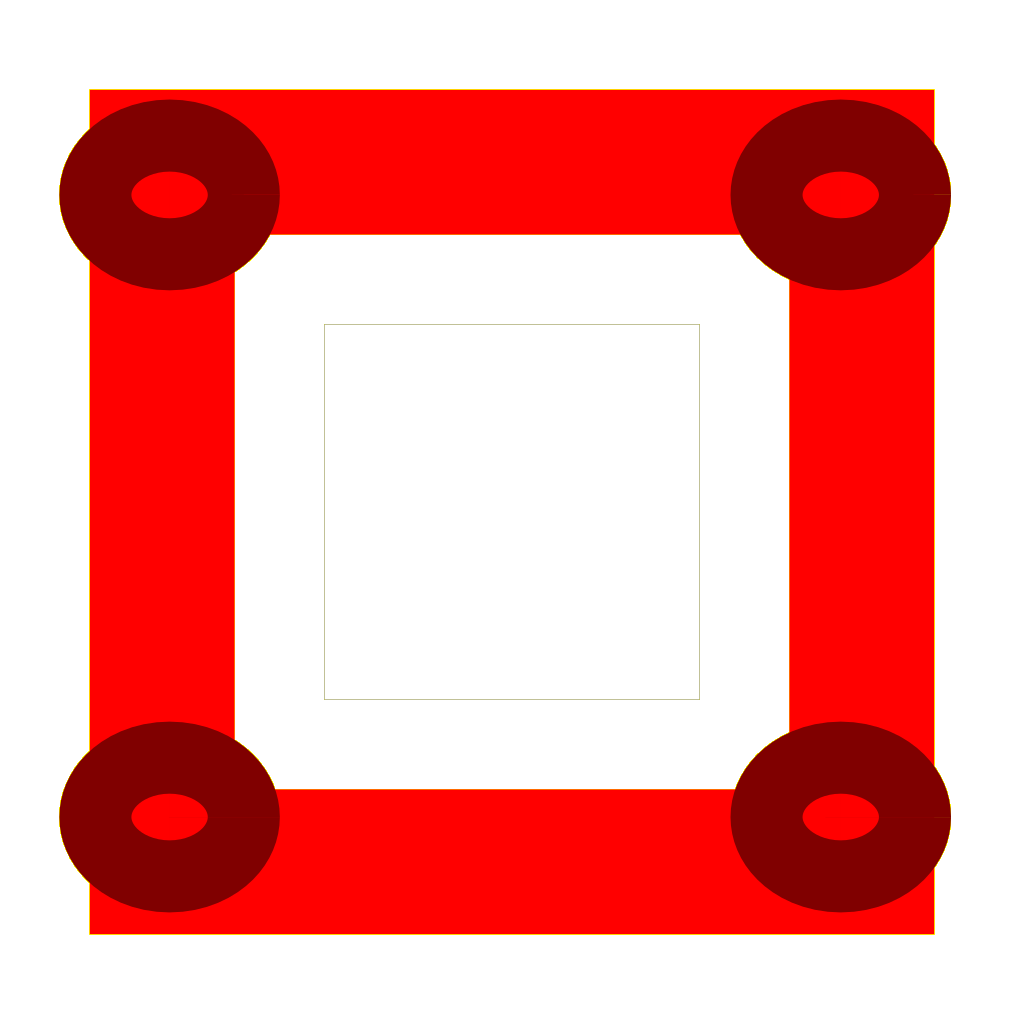 Three Block Icons SVG Clip arts