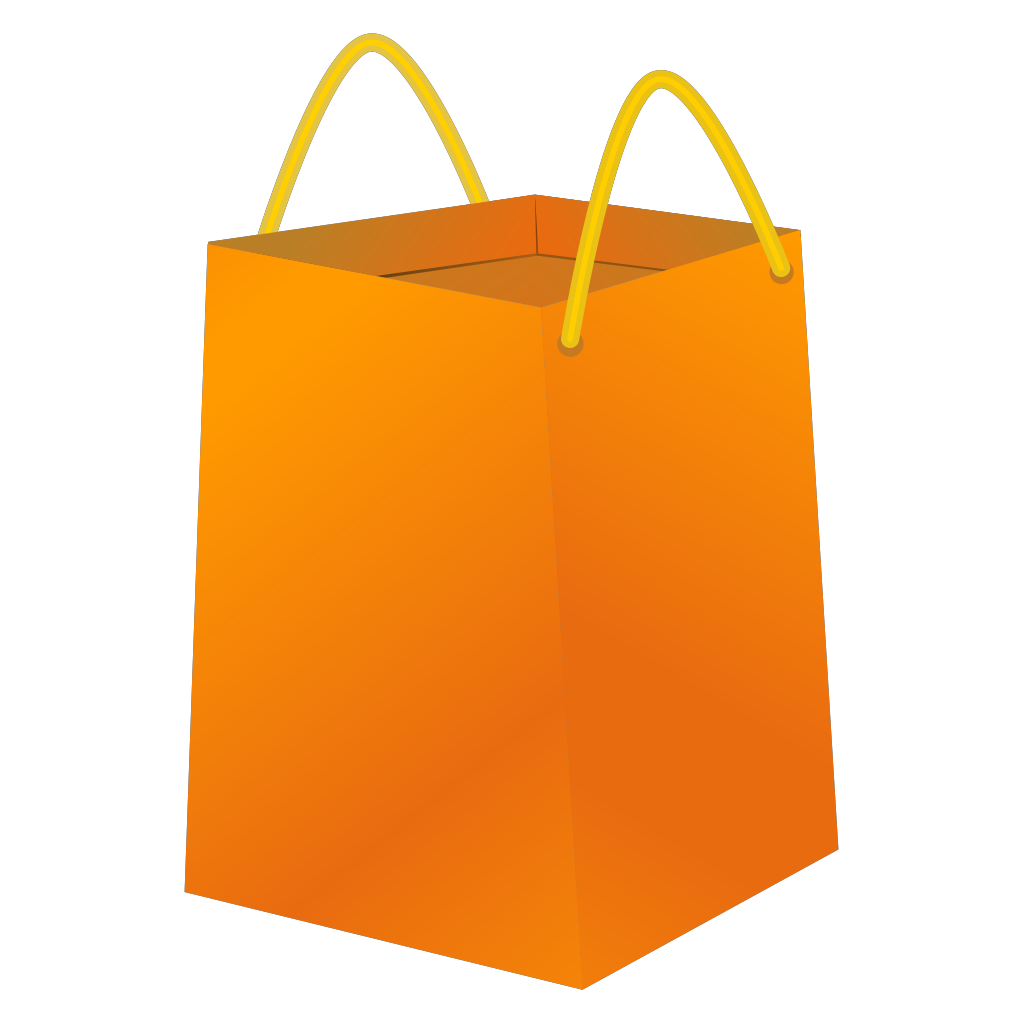 Blue Bb Shopping Bag SVG Clip arts