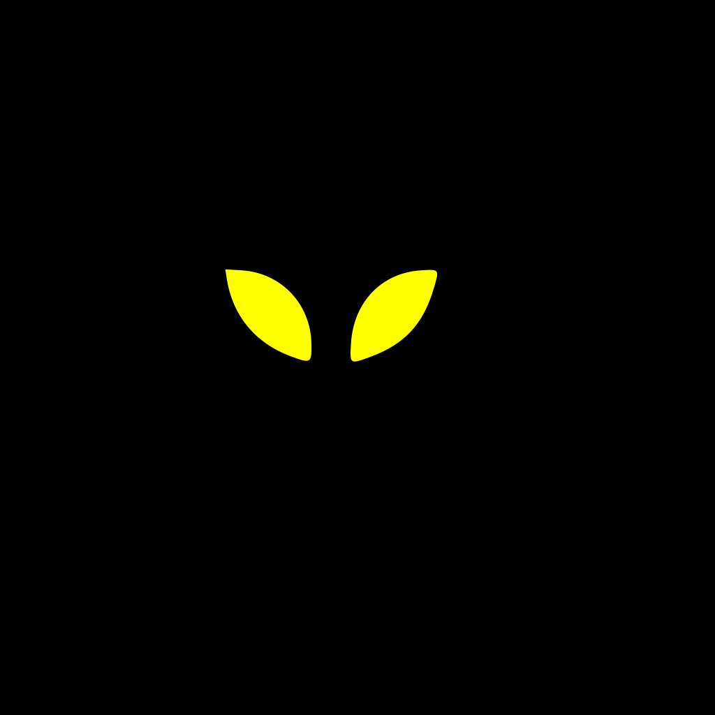 Alien Eyes SVG Clip arts