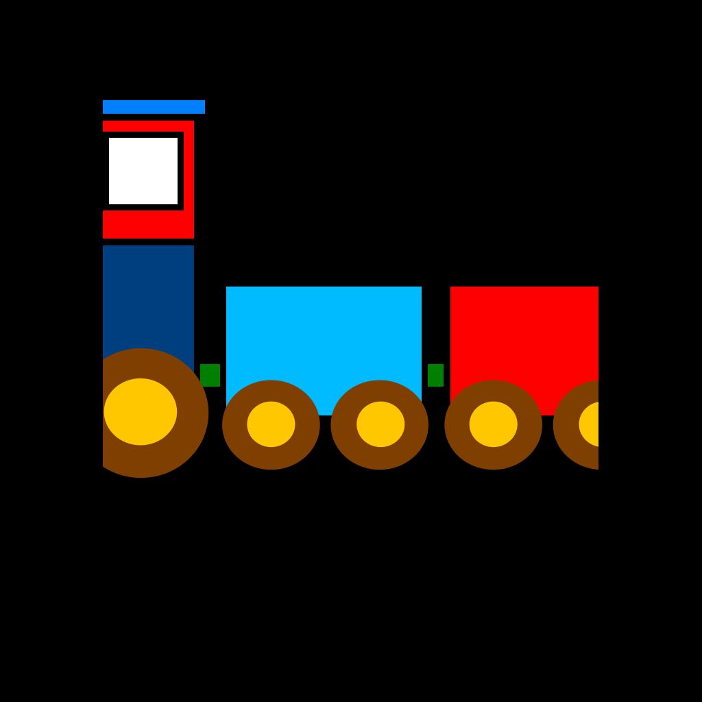 Jacks Train SVG Clip arts