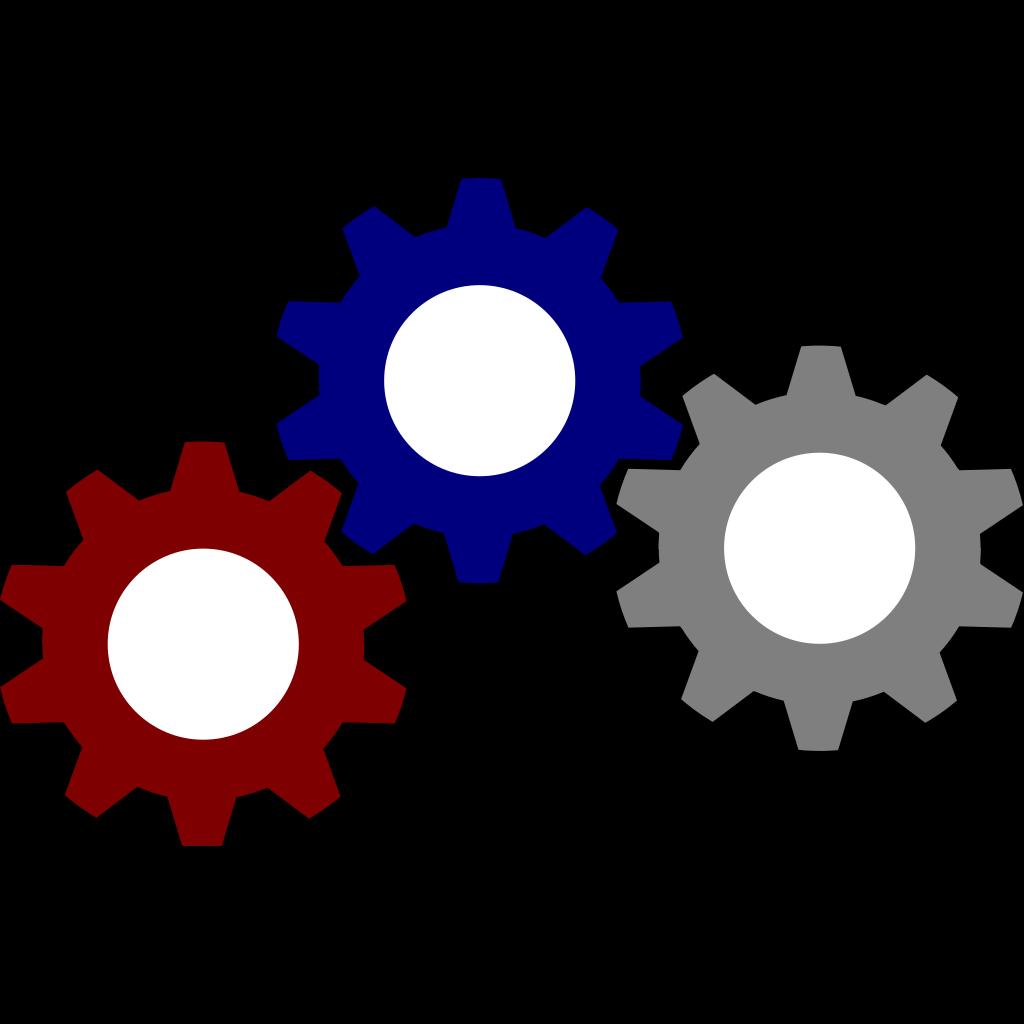 Blue Gear PNG, SVG Clip art for Web - Download Clip Art ...