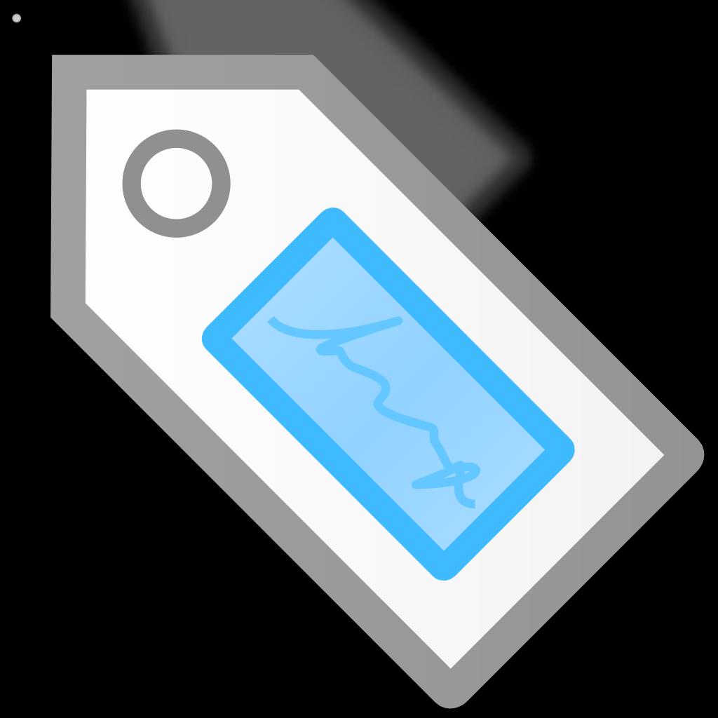 Tag SVG Clip arts