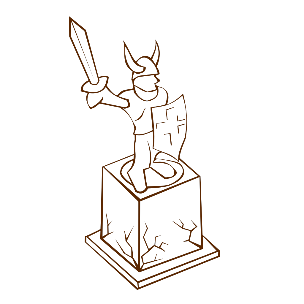 Statue SVG Clip arts