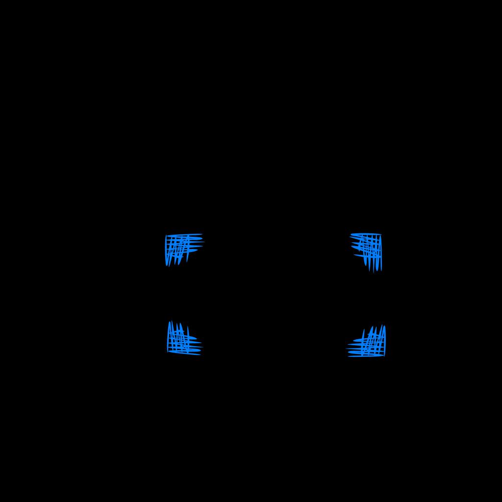 Blue Cross Hatch Shading Frame SVG Clip arts