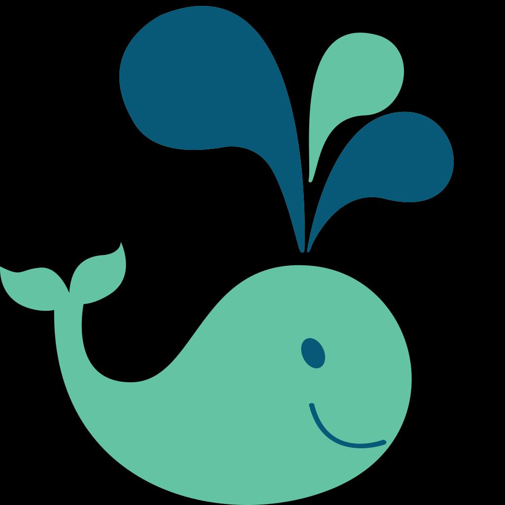 Whale-large SVG Clip arts