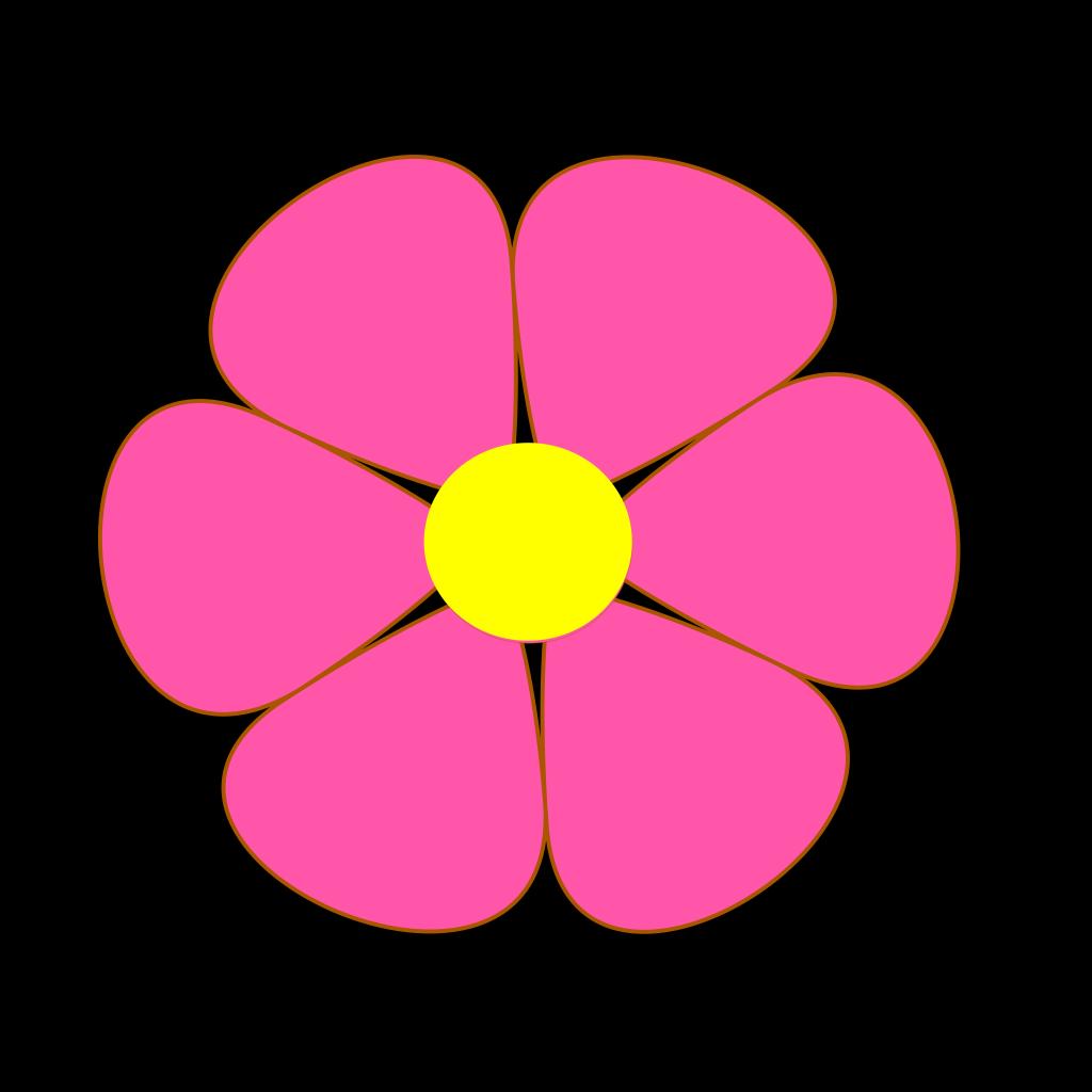 Outline Floral Decoration SVG Clip arts