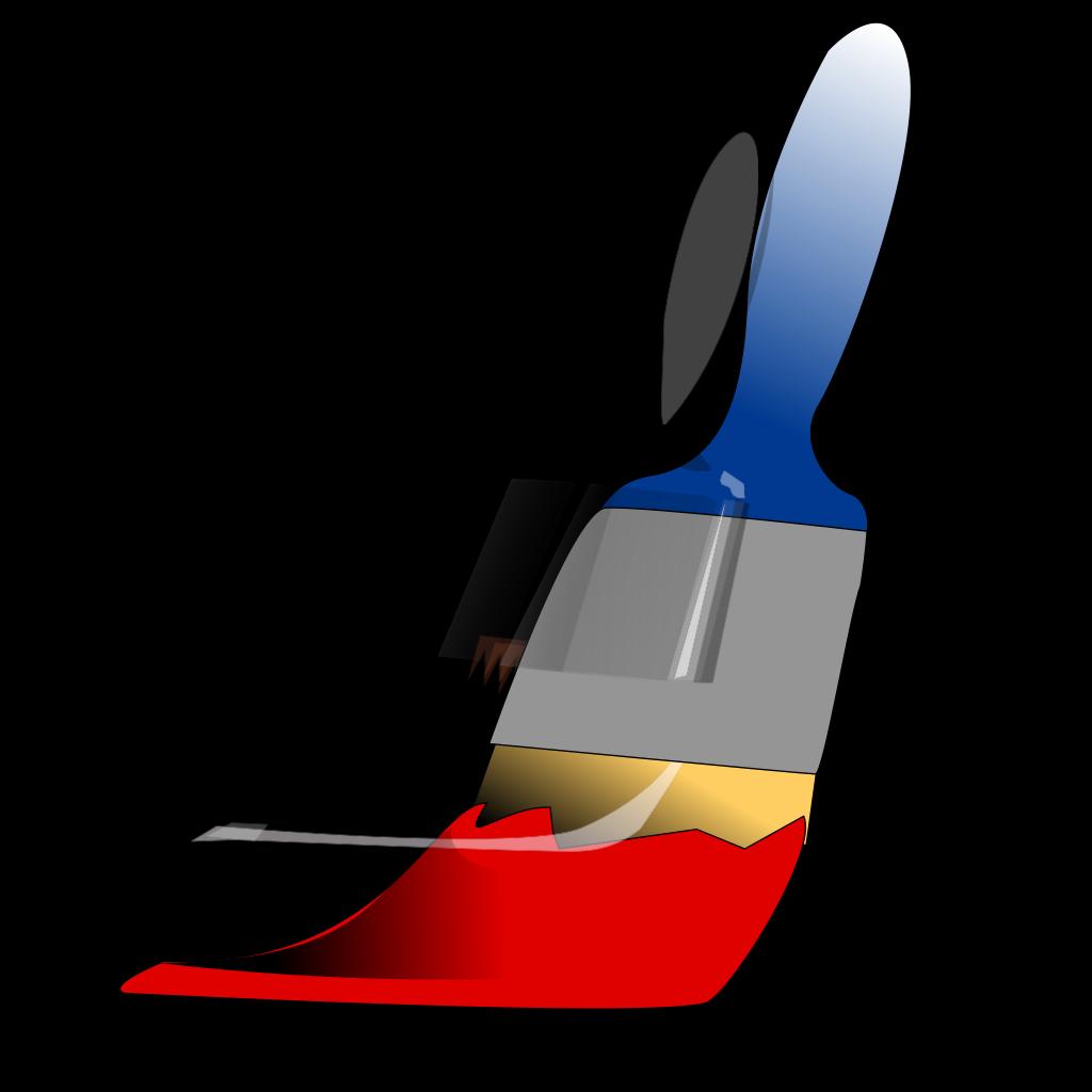 Paint Brush SVG Clip arts