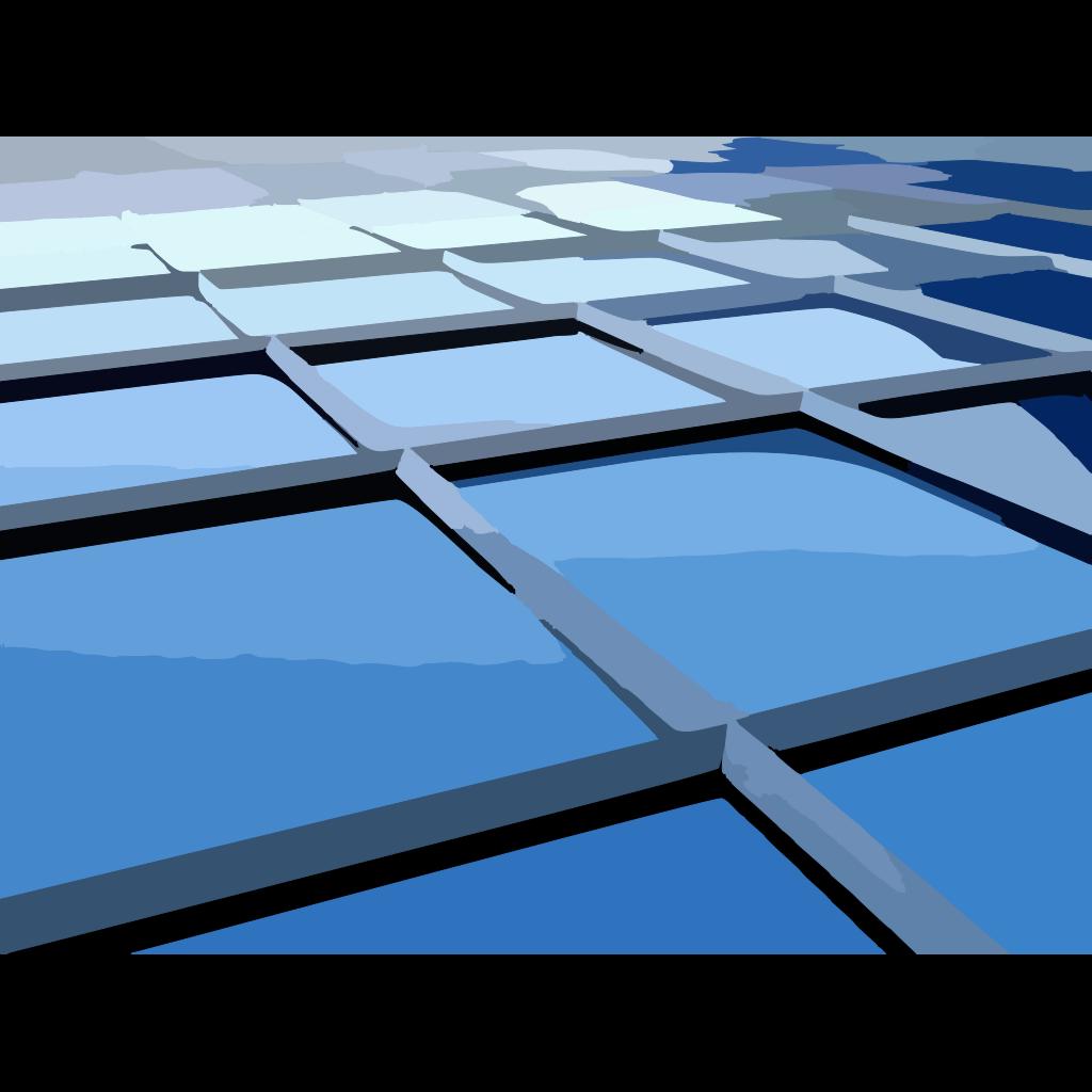 Architectural Glass SVG Clip arts