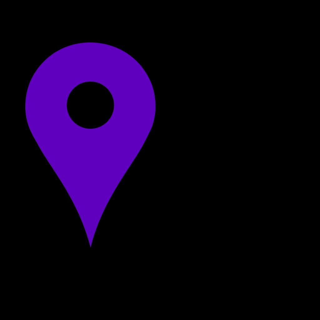 Google Maps Icon - Baby Blue SVG Clip arts