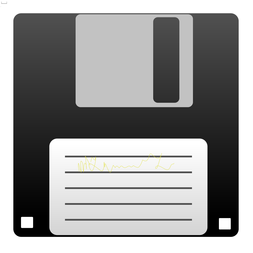 Blue Floppy Disk SVG Clip arts
