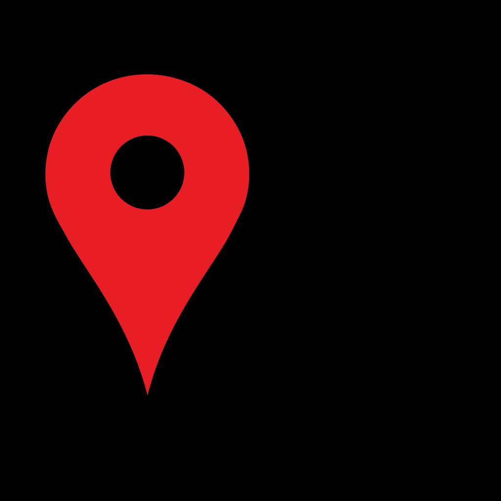 Google Map Pointer Blue SVG Clip arts download - Download