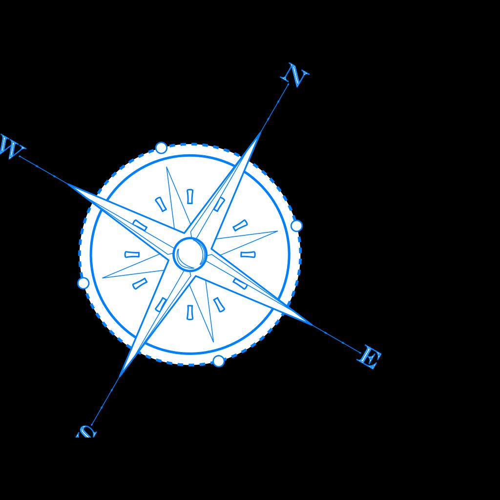 Compass1 SVG Clip arts