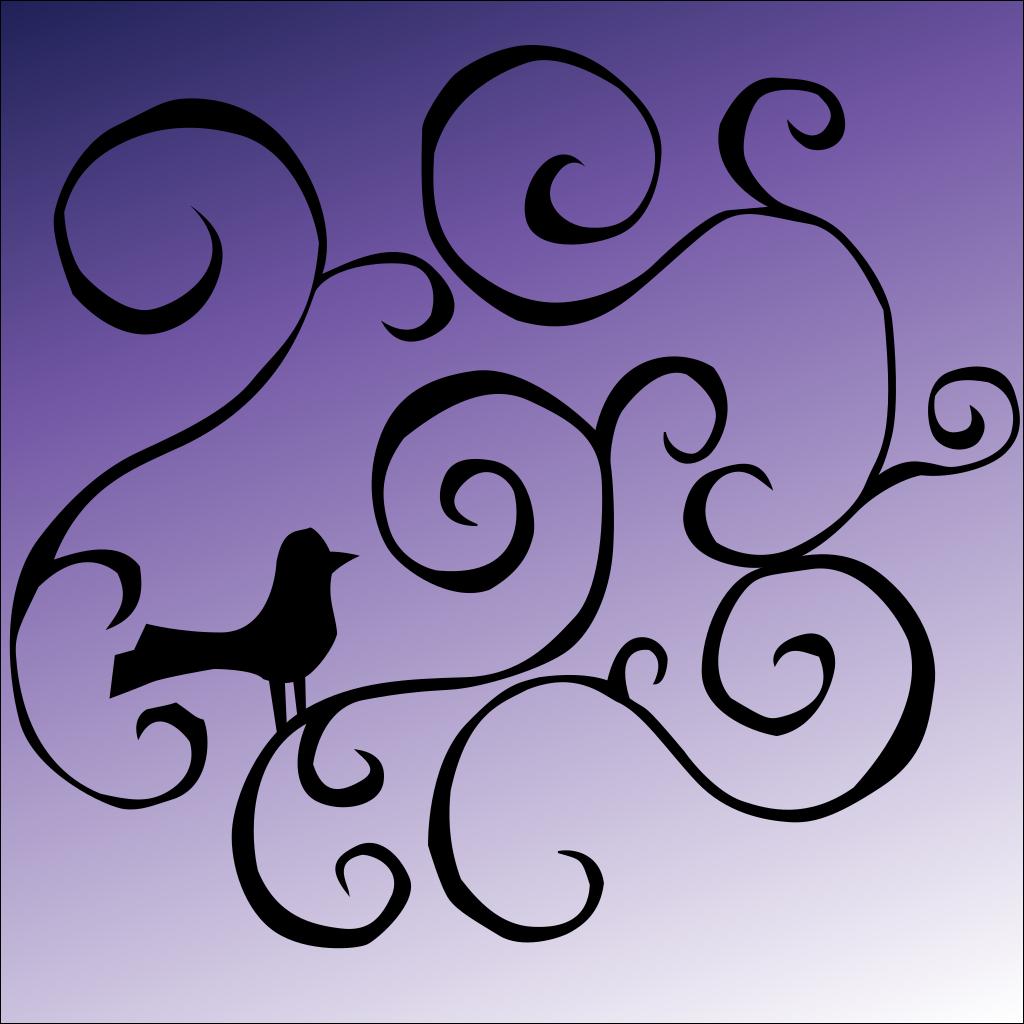 Bird Design SVG Clip arts