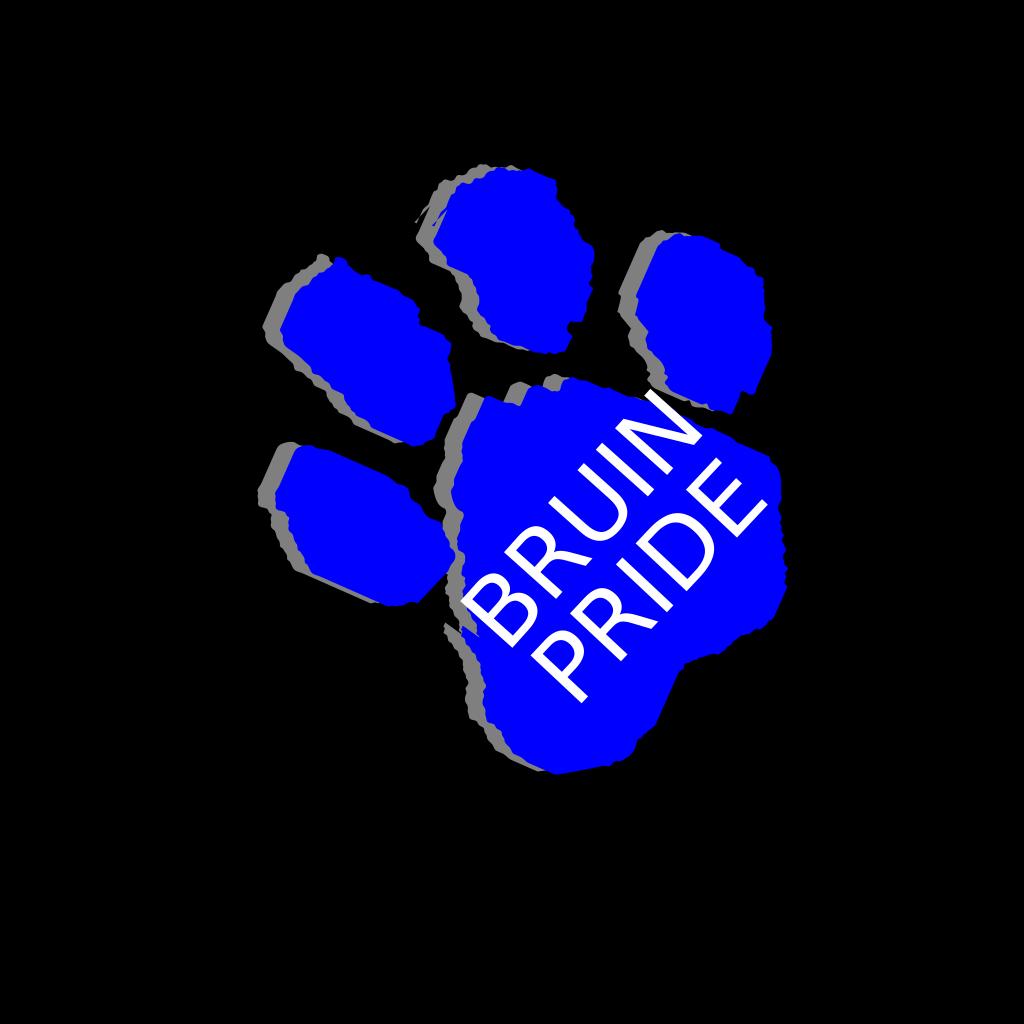 Bruin Pride SVG Clip arts