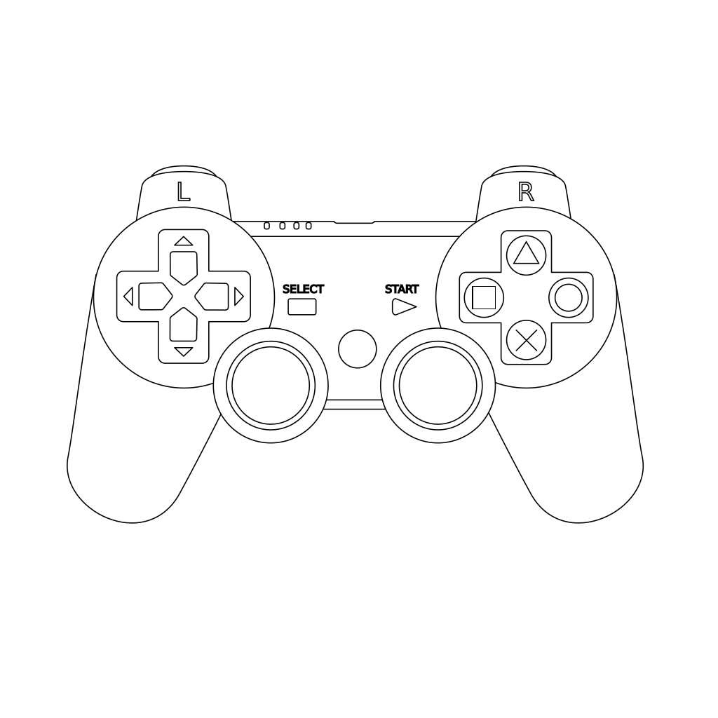 Game Controller SVG Clip arts