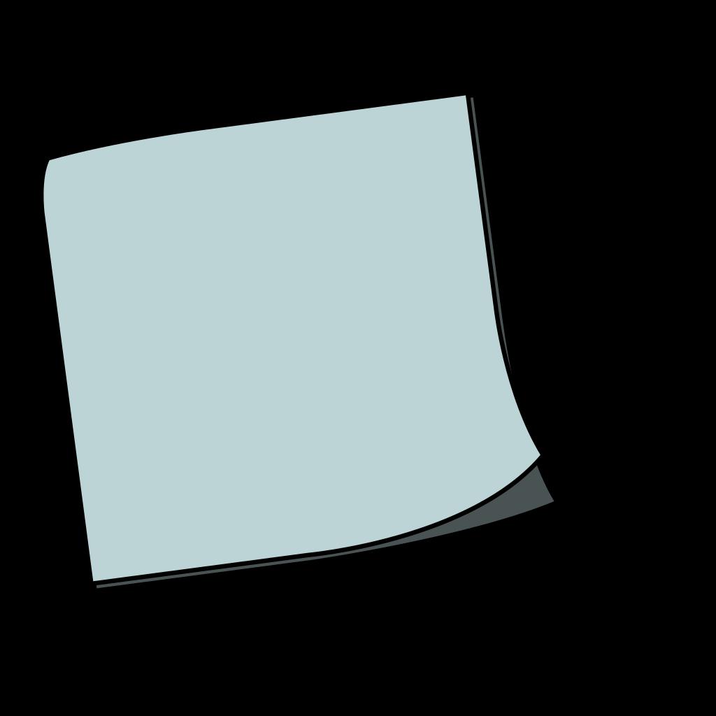 Blue Stiky SVG Clip arts