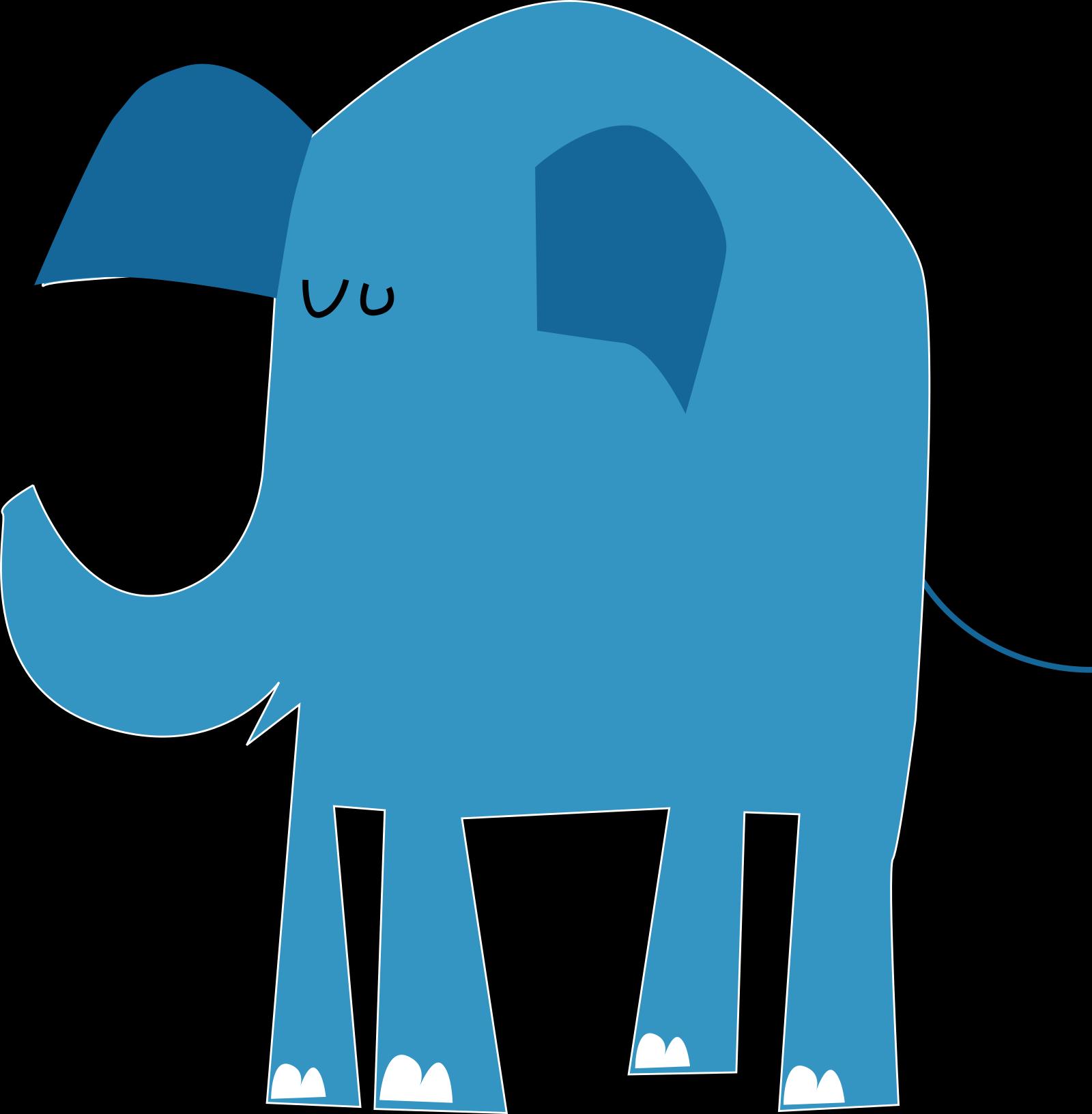Blue Animal  SVG Clip arts