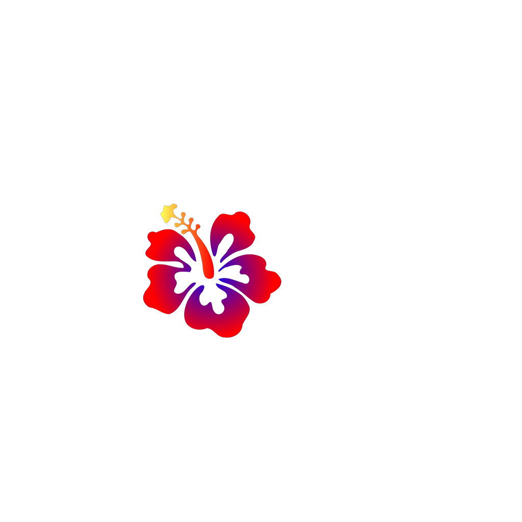 Hibiscus Edit By Vaa SVG Clip arts