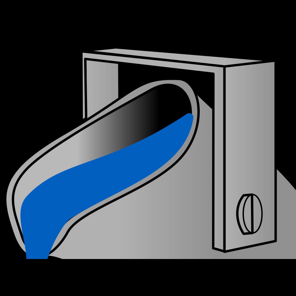 Navy Blue  Bucket SVG Clip arts
