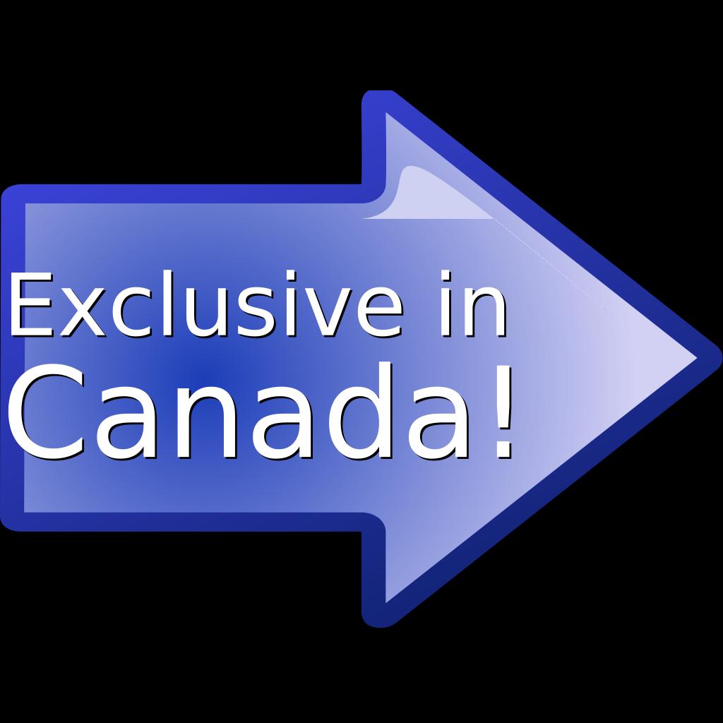 Exclusive In Canada! SVG Clip arts