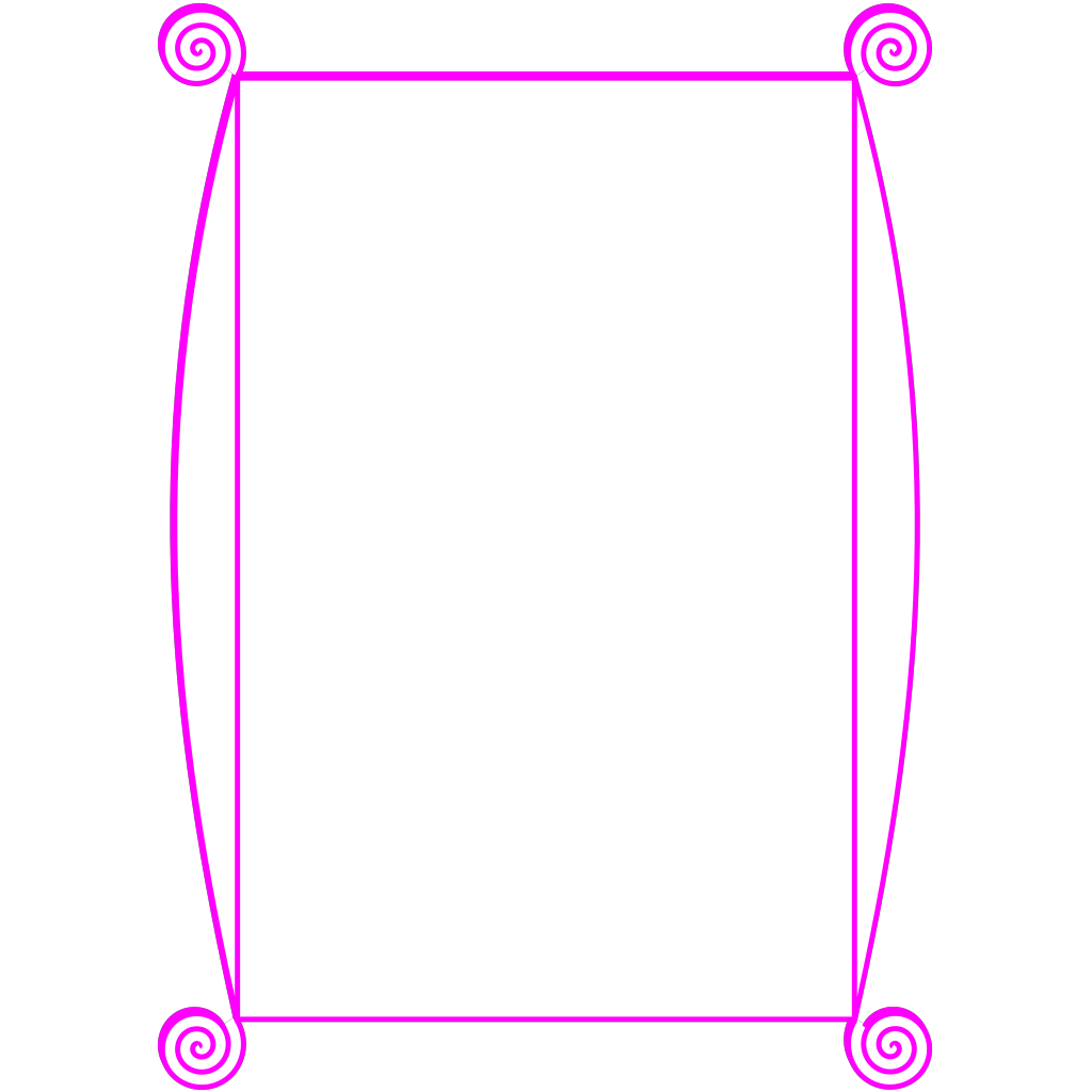 Blue Pink Border SVG Clip arts