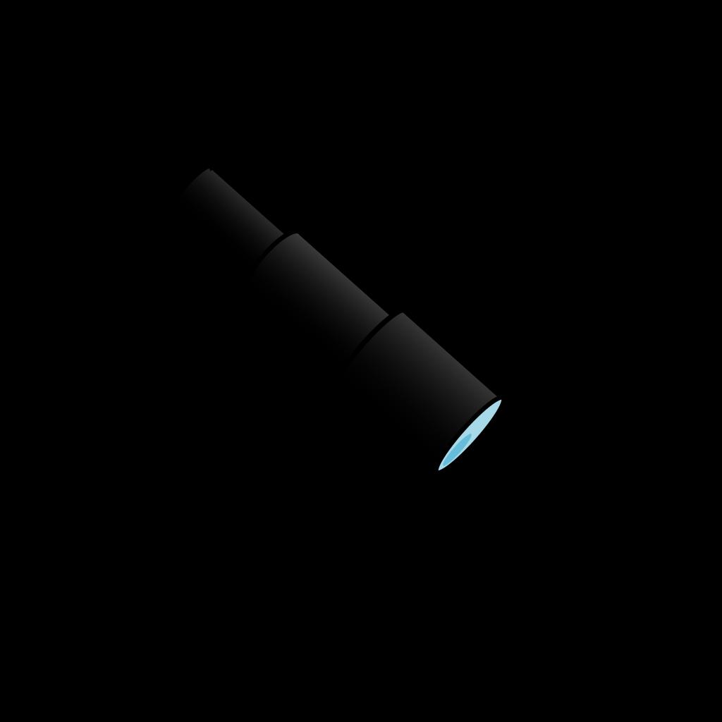 Blue Telescope SVG Clip arts