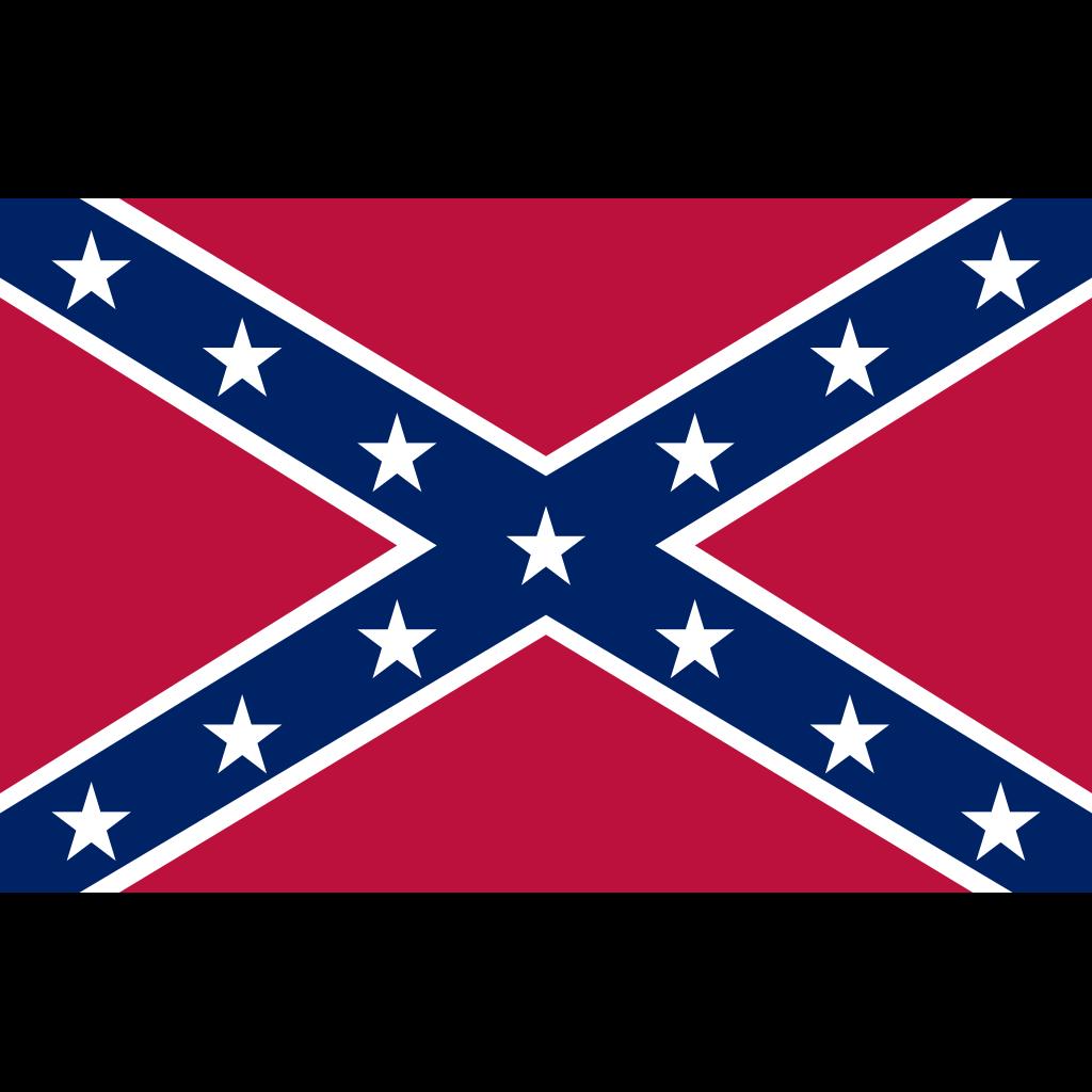 Confederate Navy Jack SVG Clip arts