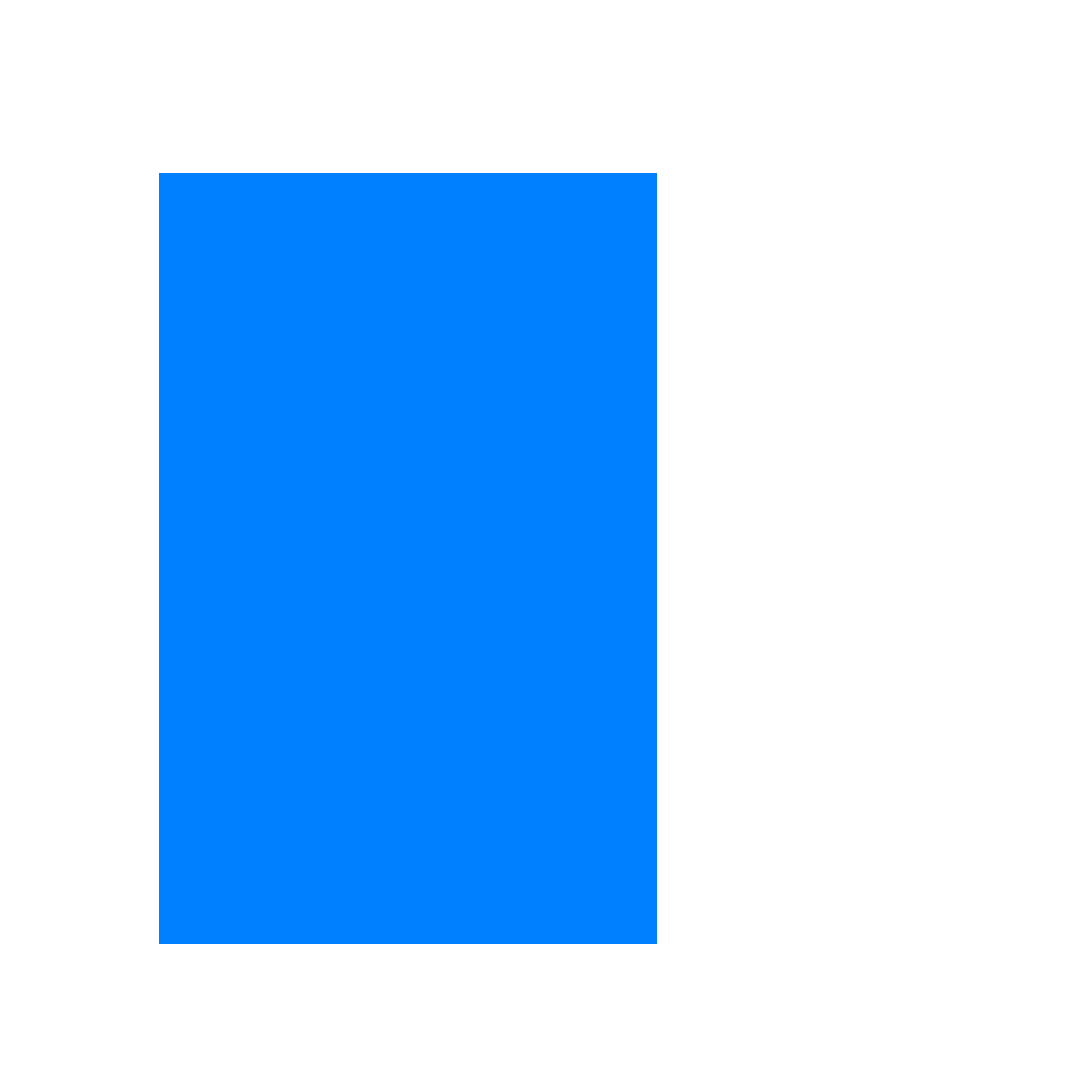 Blue Rec  SVG Clip arts