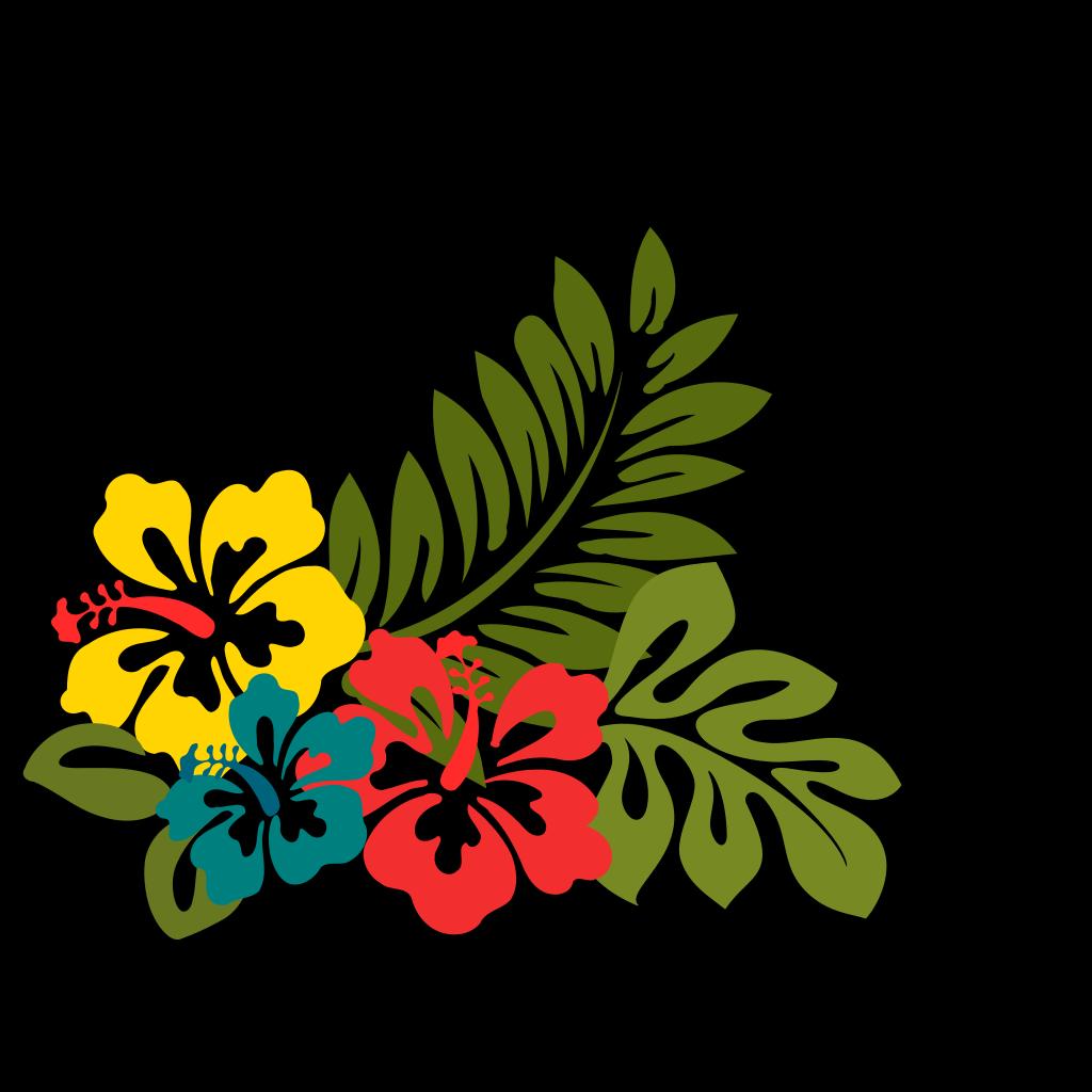 Hibiscus Flower Clipart - Hibiscus Clip Art, HD Png Download , Transparent  Png Image - PNGitem