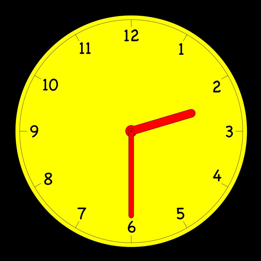 Analog Clock SVG Clip arts